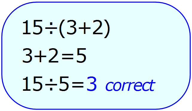 Math Calculator - Basic Calculator - Calculator Input - Correct - PEMDAS - Example 5