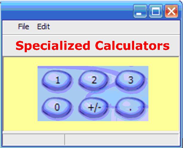 Math Calculator - Specialized Calculator - Picture