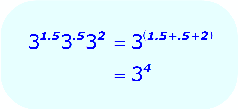 Math - Decimal Exponent - Multiplication - example 7