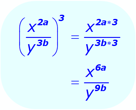 Exponent Division - when the base is a variable, and the exponents are algebraic expressions - Math