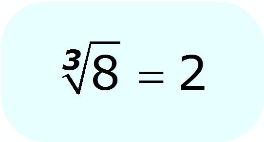 radical - cube root of 8 - Math