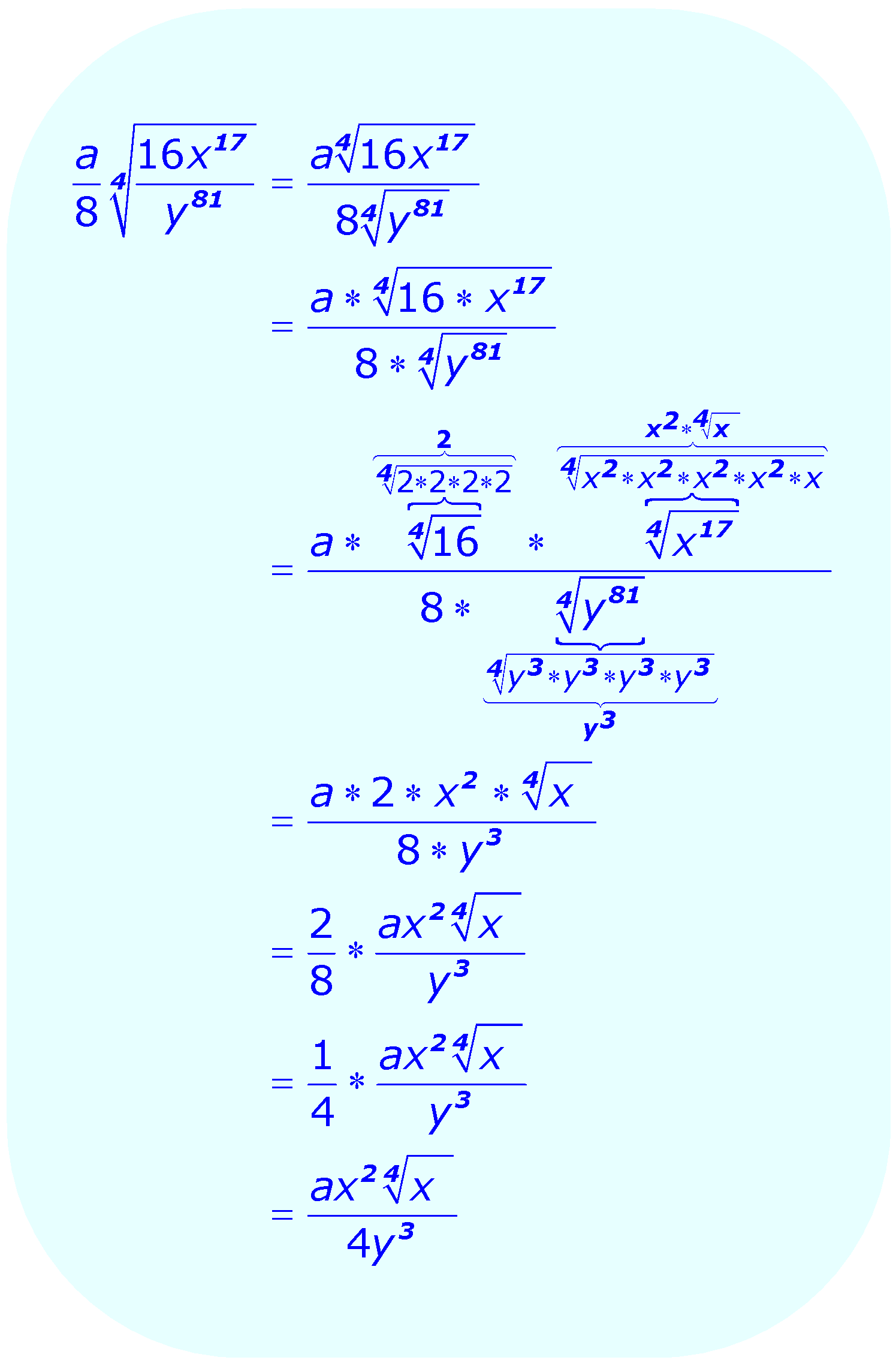 worksheet Multiplying Radical Expressions Worksheet simplifying radicals adding and subtracting math simplify radical expression using division property example 4