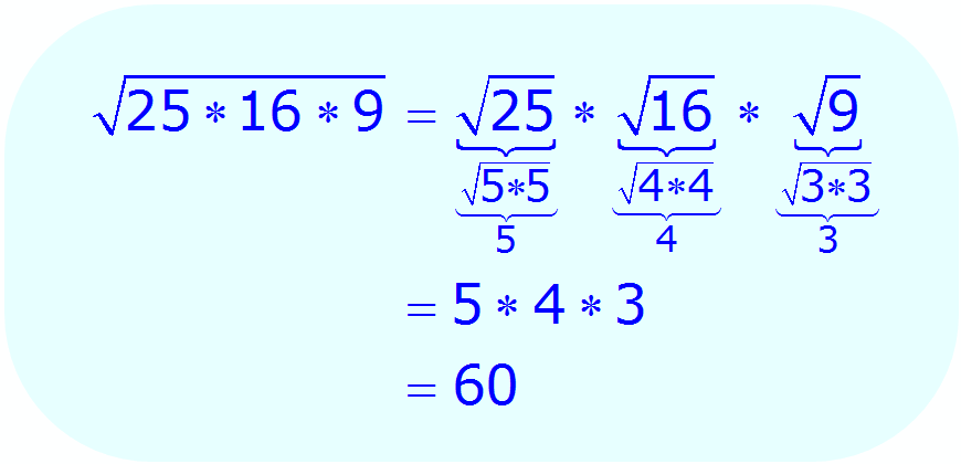 Math - Simplify Radical Expression using multiplication property - example 1