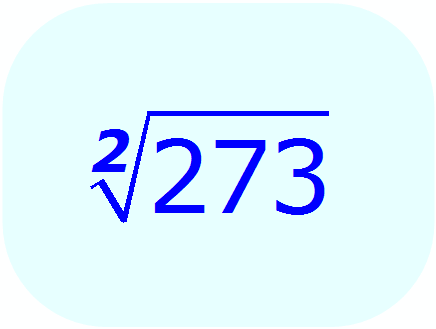 Math - Calculate Square Root without a calculator - example 2 - Newton-Raphson numerical process - Initial Problem