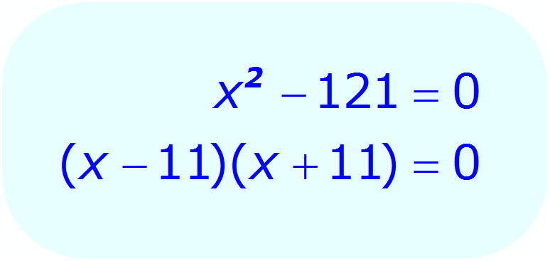 Math - Factoring the Square Root Equation - example 2 - Factor the quadratic equation - Step 3