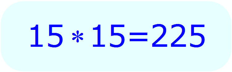 Math - Calculate Square Root without a calculator - example 3 - Guess & Check Method - Step 1b
