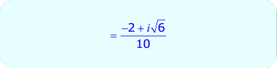 Rationalize the Denominator containing complex numbers - final answer