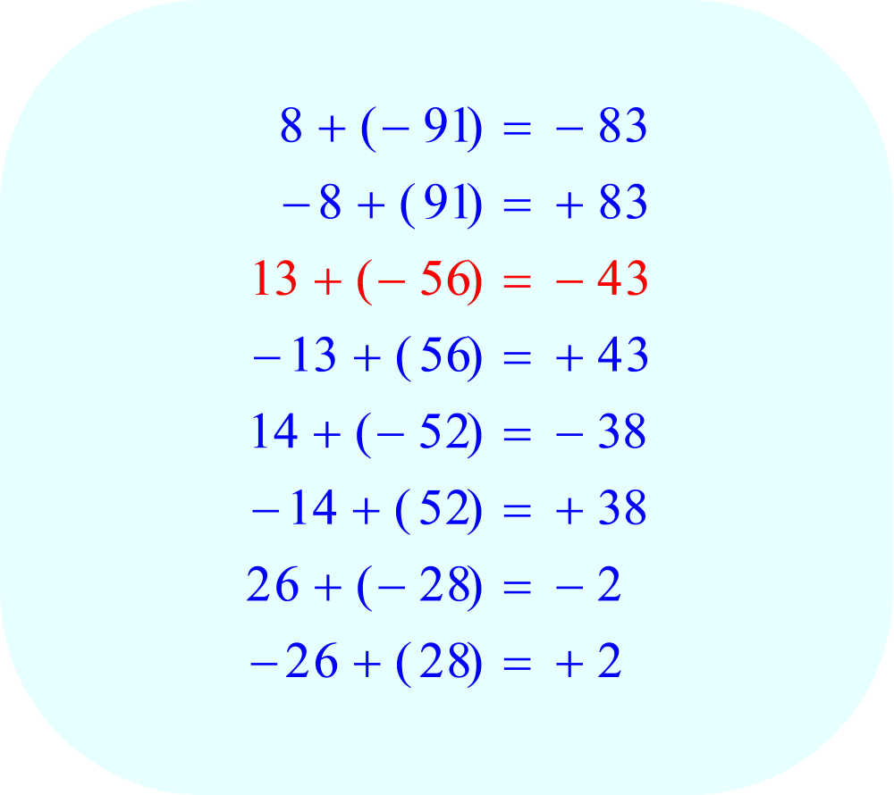 Find two factors which can be added to produce a total equal to the coefficient b, -43, part 2