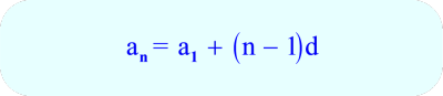 Arithmetic Sequence -Formula for the nth term in a sequence