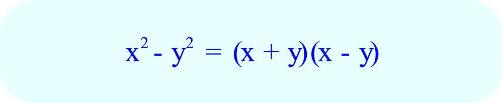 Factoring a Difference of Two Squares