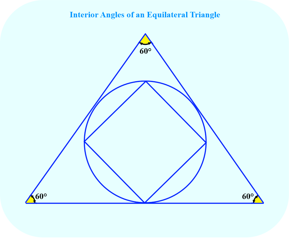 Interior Angles of an Equilateral Triangle
