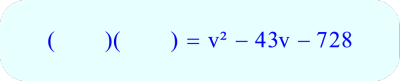 Factoring by Trial and Error - begin by writing down two sets of empty parentheses
