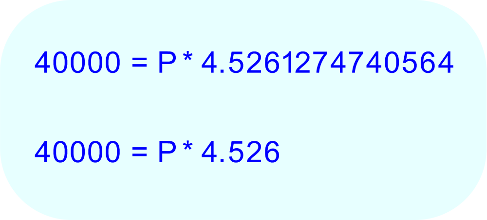 Round the value of the decimal to the nearest one-thousandth (three decimal places) to make the arithmetic a little more manageable