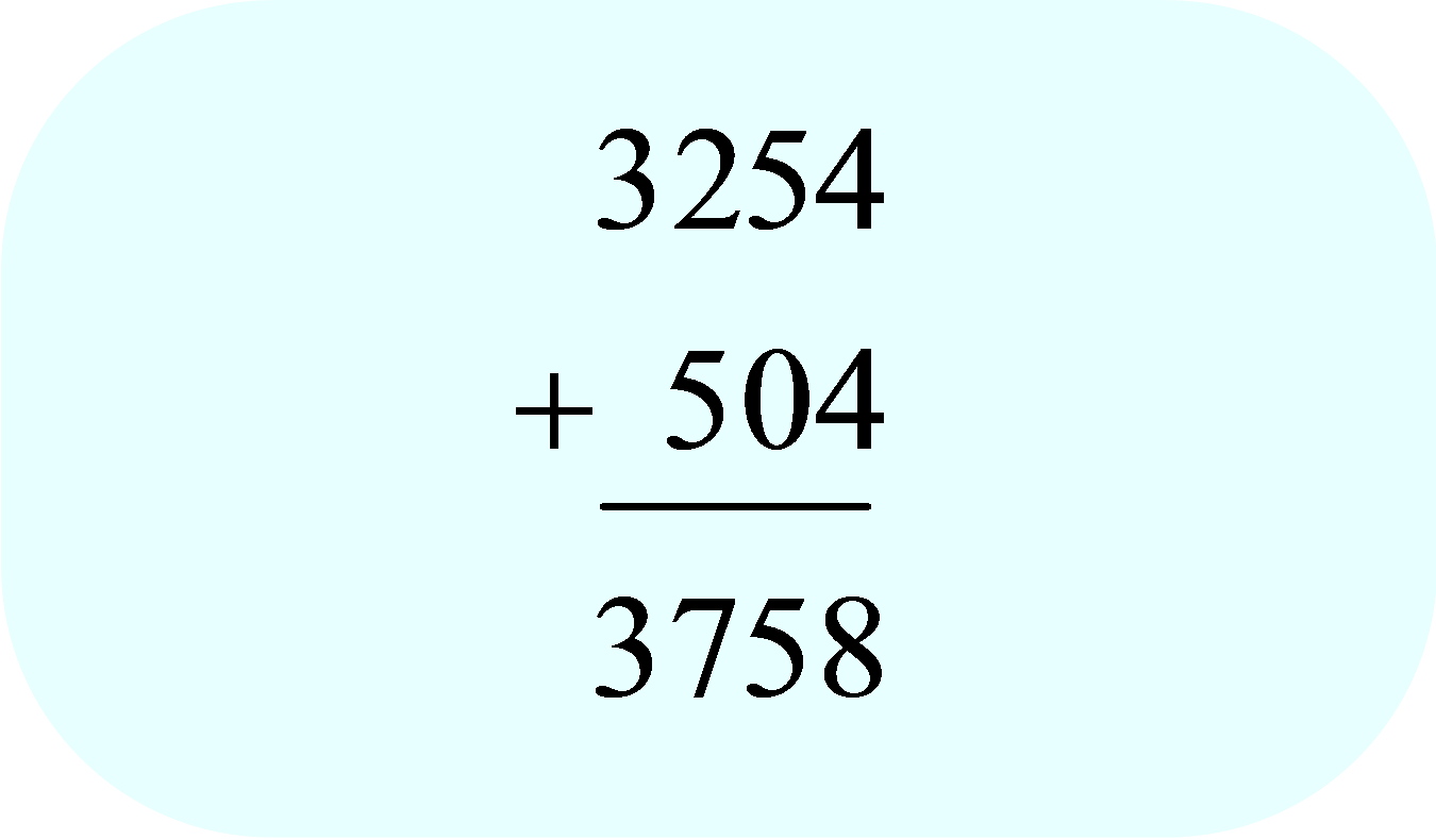 Add Whole Numbers