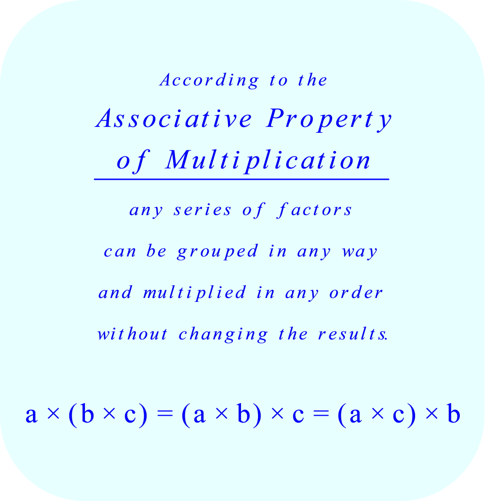 Learn About the Associative Property in Math - ThoughtCo