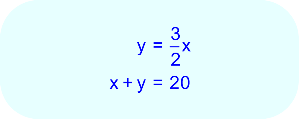 Coin Value:  solve two equations for two unknowns