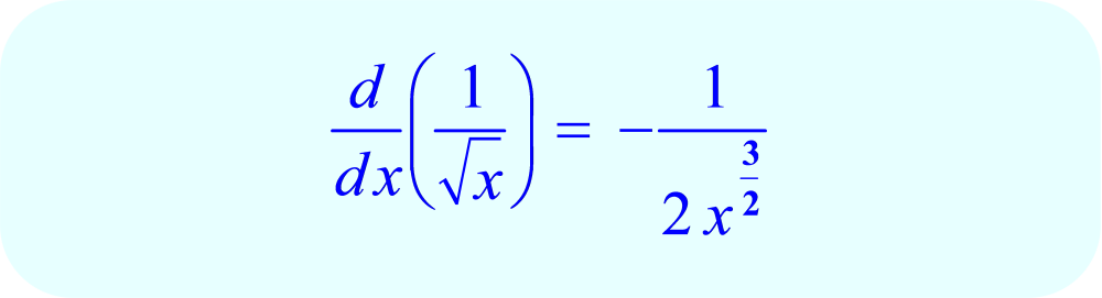 Derivative using limit formula - final answer.