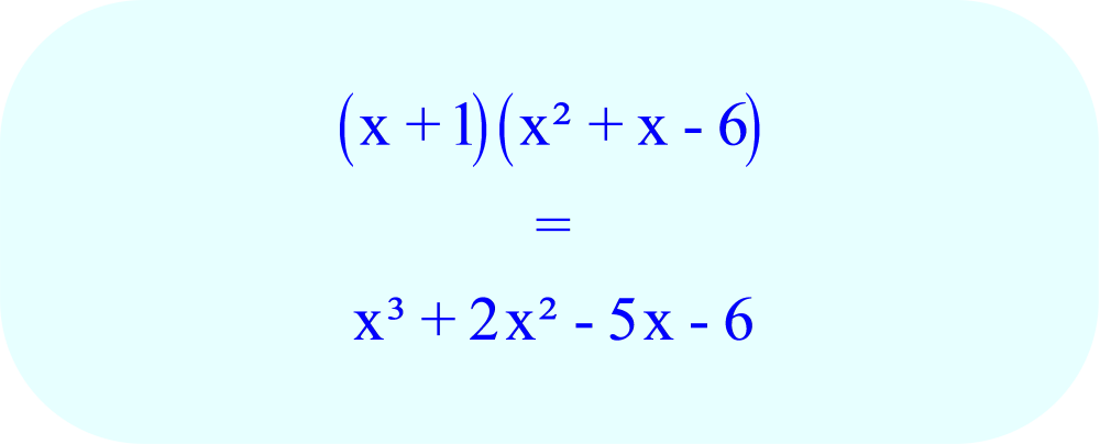 expand polynomial expression