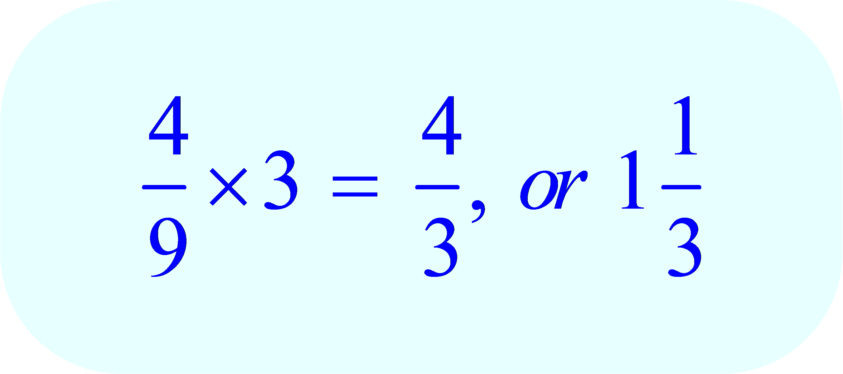Fraction Multiplied by Integer - the Results