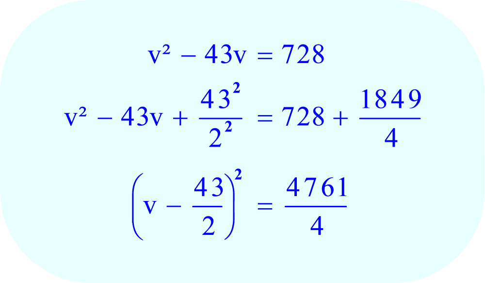 Factor the left side of the equation - it is a perfect square