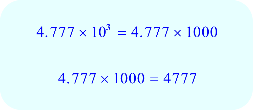 Math - 4.777 multiplied by 10 cubed