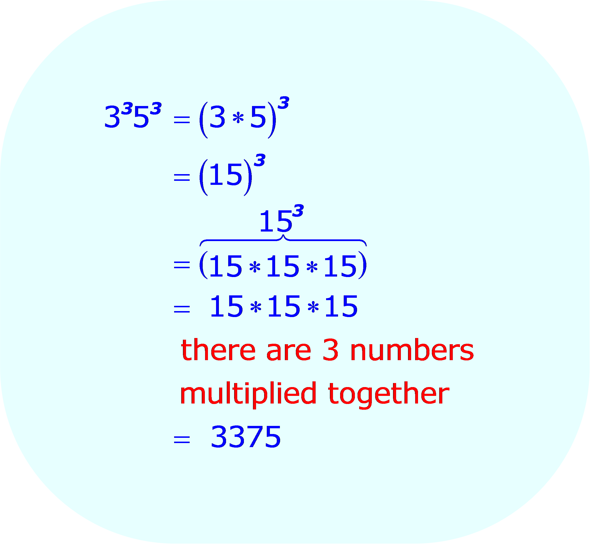 Multiplying Two Exponential Expressions - Rewriting the entire expression so there is only one base, when 