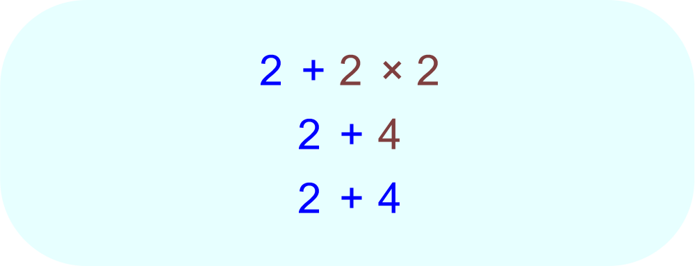 Numerical Expression Evaluation - PEMDAS - Multiplication
