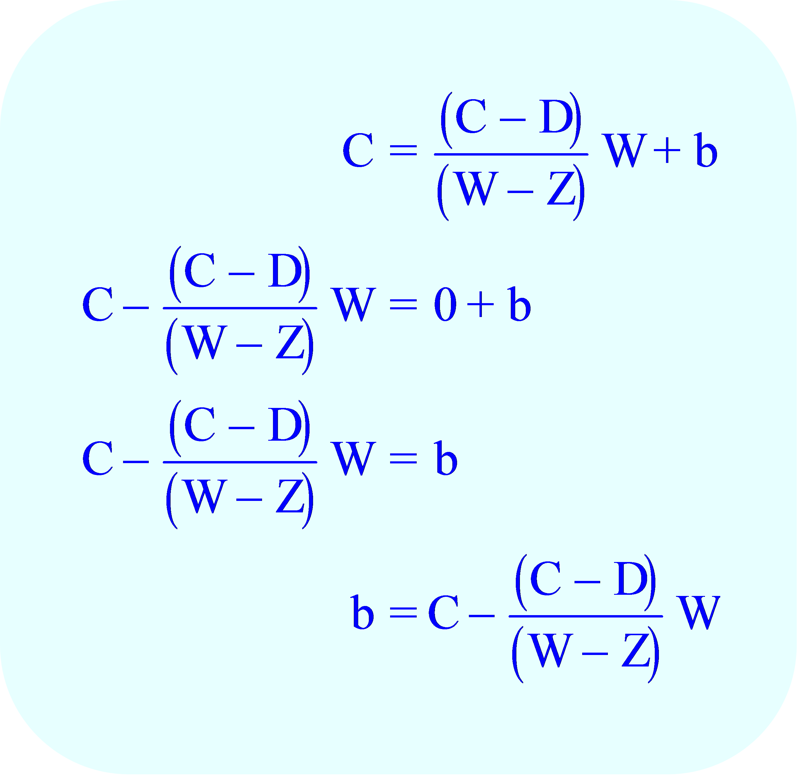 Subtract from each side of the equation