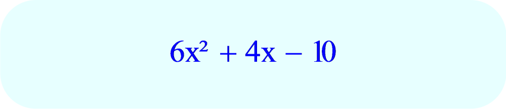 Trinomial - factoring - example problem